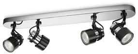 Philips 56444/11/PN - Lampa spot MYLIVING FINISH 4xGU10/35W/230V