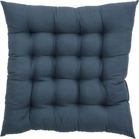 Perna pentru Scaun, Albastru inchis, Poliester 45x45 cm