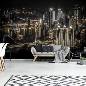 Fototapet - Orașul noaptea (152,5x104 cm), în 8 de alte dimensiuni noi