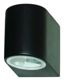 Searchlight - Aplică perete exterior LED LEDO 1xGU10/3W/230V IP44 negru