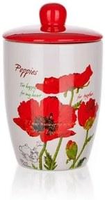 Cutie cu capac Banquet Red Poppy 600 ml