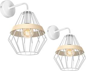 Aplica CLIFF WHITE Milagro Modern, E27, Alb, MLP5517, Polonia