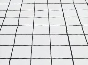 Lenjerie de pat pentru copii Mumla Grid, 100 x 135 cm