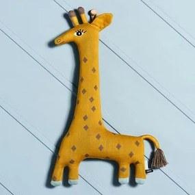 Perna Girafa - Bumbac Galben inaltime(64cm) x lungime(27cm) x latime(15cm)