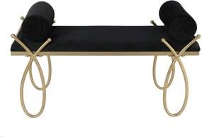 Bancheta Ribbon Glam 112,5x49x53 cm