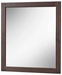 Oglinda Victoria Maro inchis, 2 cm, 73 cm, 80 cm, Lemn