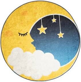 Covor copii Moon, ⌀ 140 cm