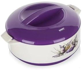 Bol termo cu capac Lavender, BANQUET 3,5 l
