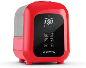 Klarstein Sevilla umidificator ionizator funcție aroma ultrasunete 4,5l rosu