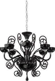 Candelabru interior Incanti Lirica - negru