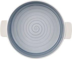 Vas ceramic rotund Villeroy & Boch Clever Cooking 24cm albastru