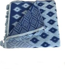 Set 5 prosoape 70x140 albastru