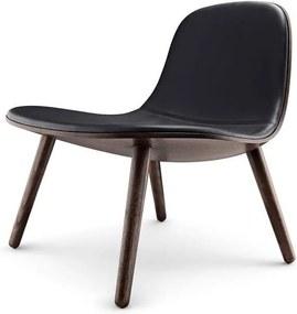 Scaun lounge Abalone Negru