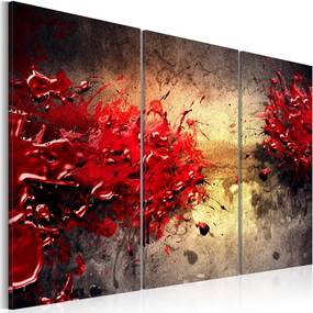 Tablou - Red splash 60x40 cm