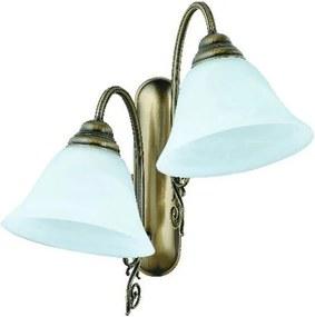 Aplică cu 2 brațe cu abajururi turcoaz Glimte Blue Dream
