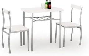 LANCE set masă + 2 scaune, alb
