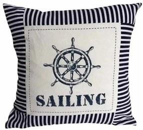 Perna Decorativa Sailing Jacob, 40x40 cm
