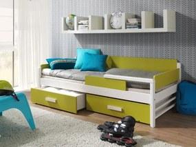 Ourbaby copii pat Terrey 180x80 cm alte nuanțe de culori pat + spațiu de depozitare