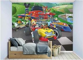 Walltastic Mickey Mouse závody - fototapet pe perete 305x244 cm