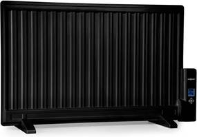 OneConcept Wallander, radiator pe ulei, 800 W, termostat, încălzitor de ulei, ultra-plat, negru