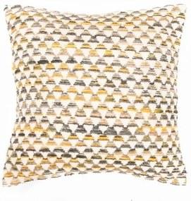 Față de pernă cu model Tiseco Home Studio Pyramide, 45 x 45 cm, galben