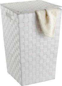 Coș de rufe Wenko Adria, alb, 48 l