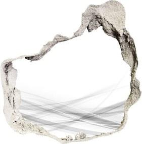 Fototapet un zid spart cu priveliște Valuri abstracte