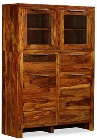 243944 vidaXL Servantă din lemn masiv de sheesham, 100 x 35 x 140 cm