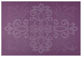 Suport farfurii pvc/ps 30x45cm violet Glamour