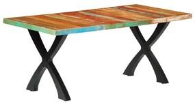 283774 vidaXL Masă de bucătărie, 180 x 90 x 76 cm, lemn masiv reciclat