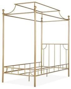 Pat metalic tip baldachin Guido, auriu, 105 x 205 x 220 cm