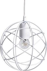 Lustra Pendant, White, Metal 20 cm