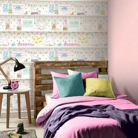 Arthouse Tapet - Girl's Life Multi Girl's Life Multi