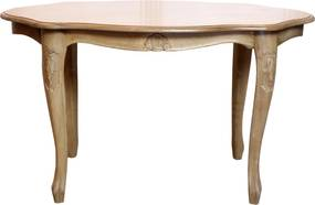 Masa ovala Letize din lemn alb 78x42 cm