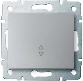 Kanlux Logi 25191 Comută întrerupătoare argintiu