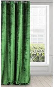 Draperie Elizia Velvet Verde, 140 x 250 cm, 1 bucata