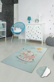 Covor pentru copii Lovely Albastru - 140 x 190 cm
