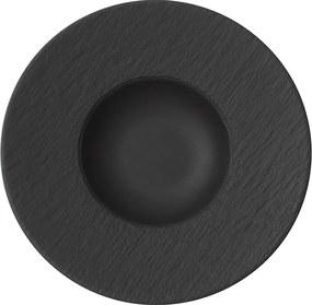 Farfurie pentru paste, colecția Manufacture Rock - Villeroy & Boch