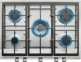 Plita incorporabila pe gaz Teka EX 70.1 5G AI AL DR CI, 70 cm, Wok, gratare fonta