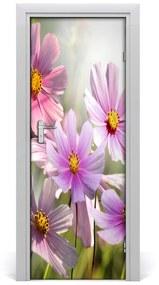 Autocolante pentru usi flori de câmp