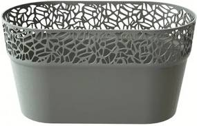 Înveliş de ghiveci Naturo, gri, 27,5 cm, 27,5 cm
