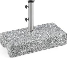 Blumfeldt Schirmherr 25HSQ, granit, suport pentru umbrelă, granit lustruit