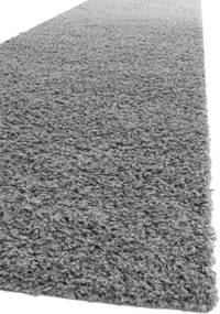 Traversa Shaggy Swirls Gri Inchis  - 80x300 cm