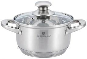 Oala cu capac otel inoxidabil 24 cm Satin Gourmet Line Blaumann BL 3320
