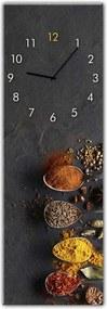 Styler Ceas de perete din sticlă - Spices