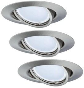 Paulmann - TIP 3974 - SET 3xLED/4,9W Lampă încastrată COIN 230V