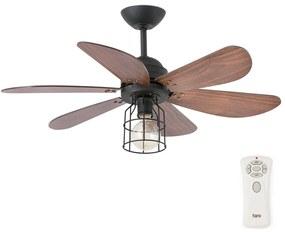 FARO 33703 - Ventilator tavan CHICAGO 1xE27/15W/230V