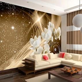 Fototapet - Golden Milky Way 400x280 cm