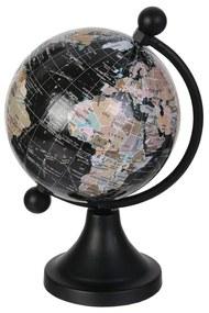 Glob Geografic CMP Map negru