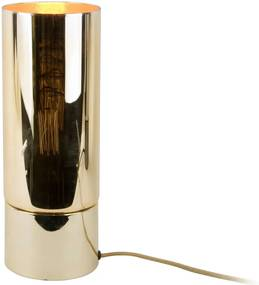 Veioză cu abajur cu efect oglindă Leitmotiv Lax, auriu